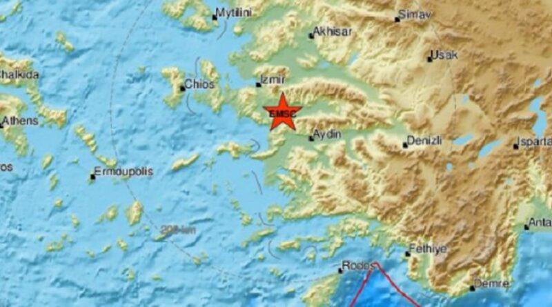 Turska: Novi zemljotres u blizini Izmira